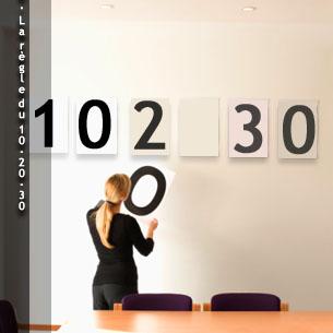 10. La règle du 10-20-30