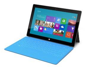Un prototype de la tablette Surface de Microsoft
