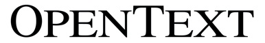 Logo de Open Text
