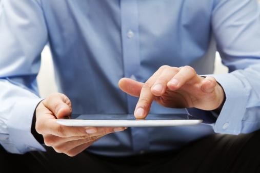 Image de tablette numérique