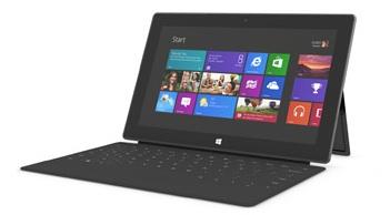 Tablette numérique Surface de Microsoft