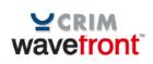 Logos du CRIM et de Wavefront