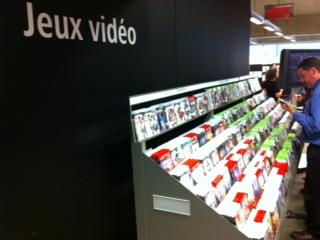 Collection de jeux vidéo à la Grande Bibliothèque