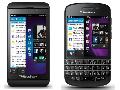 Appareils Z10 et Q10 de BlackBerry