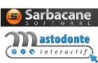 Logos de Sarbacane Software et Mastodonte Interactif