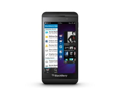 Le modèle Z10 de BlackBerry