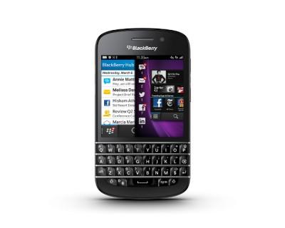 Le modèle Q10 de BlackBerry