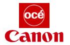 Logos d'Océ et Canon