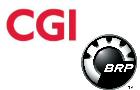 Logos de CGI et BRP