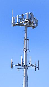 Image d'une antenne de réseau de télécommunications
