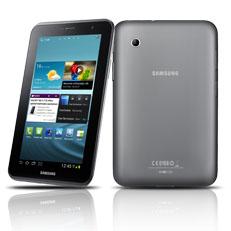 La Galaxy Tab 2 de Samsung est dotée d'un écran de 7 pouces et utilise le système d'exploitation Android. (Photo: Samsung)