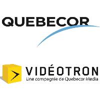 Logos de Québecor et Vidéotron