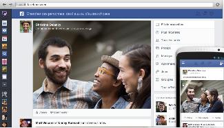 Nouvelle interface Web de Facebook