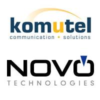 Logos de Komutel et Novo Technologies