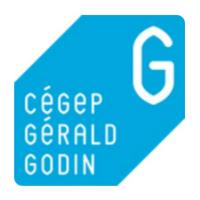 Logo du Cégep Gérald-Godin