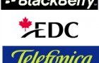 EDC finance l'achat de produits et services de BlackBerry par Telefonica