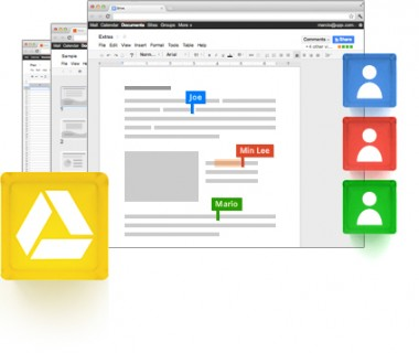 Illustration de Google Drive