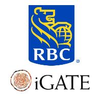 Logos de RBC Banque Royale et d'iGATE