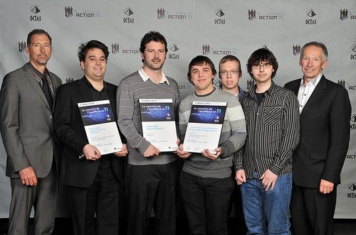 OCTAS 2013 - Finalistes - Relève étudiante, niveau collégial