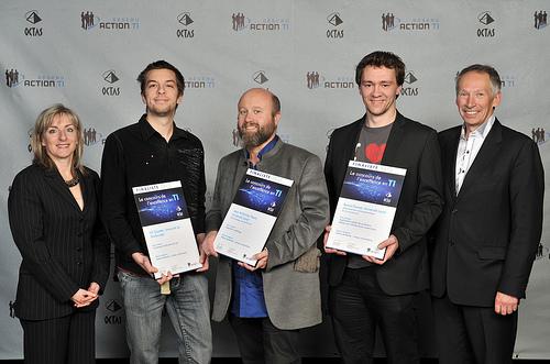 OCTAS 2013 - Finalistes - Relève étudiante, niveau universitaire