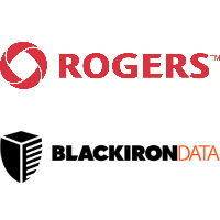 Logos de Rogers et Blackiron Data