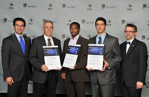 OCTAS 2013 - Finalistes - Solution d'affaires, développement à l'interne, plus de 100 employés
