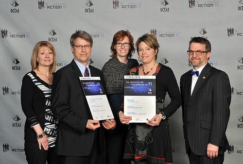 OCTAS 2013 - Finalistes - Solution d'affaires, logiciels libres