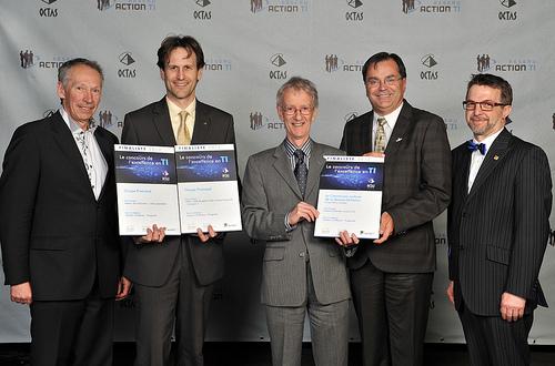 OCTAS 2013 - Finalistes - Solution d'affaires, progiciels