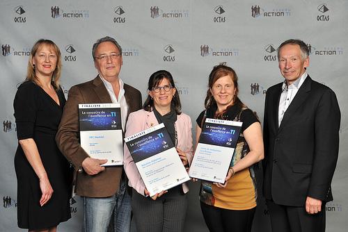 OCTAS 2013 - Finalistes - Les TI au service de la société