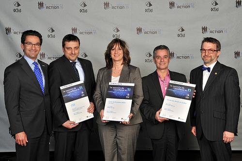 OCTAS 2013 - Finalistes - Affaires électroniques