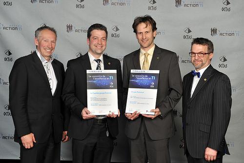 OCTAS 2013 - Finalistes - Infratructure, 3000 employés et moins