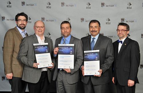 OCTAS 2013 - Finalistes - Infrastructure, plus de 3000 employés