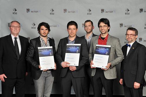 OCTAS 2013 - Finalistes - Innovation, 100 employés et moins