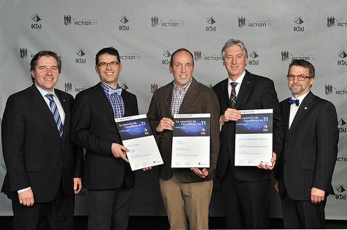 OCTAS 2013 - Finalistes - Innovation, plus de 100 employés
