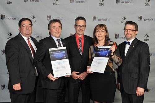OCTAS 2013 - Finalistes - Intelligence d'affaires