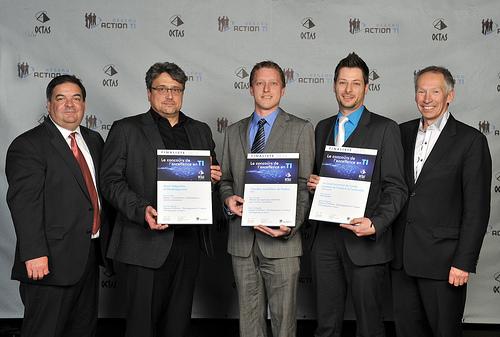 OCTAS 2013 - Finalistes - Solution d'affaires, développement à l'interne, 100 employés et moins