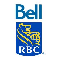 Logos de Bell Canada et RBC Banque Royale