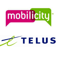 Logos de Mobilicity et TELUS