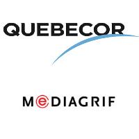 Logos de Québecor et Mediagrif