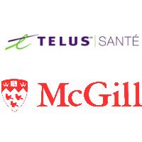 Logos de TELUS Santé et l'Université McGill