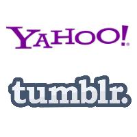 Logos de Yahoo et Tumblr