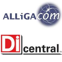 Logos d'ALLiGACOM et DICentral