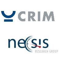 Logos du CRIM et de NECSIS