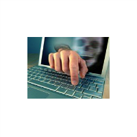 Illustration du concept du piratage
