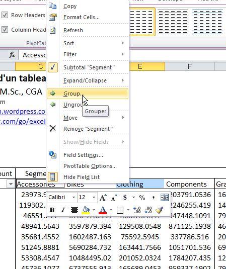 Tableaux croisés dynamiques dans Excel: 3 fonctionnalités sous-utilisées (2 de 2)