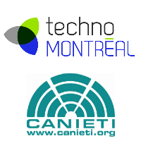 Logos de TechnoMontréal et CANIETI Occidente
