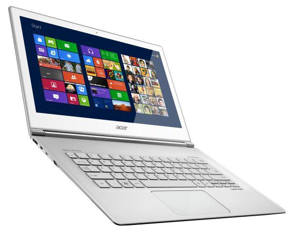 L'ordinateur portatif Aspire d'Asus