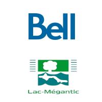 Logos de Bell et de Lac-Mégantic