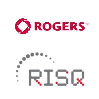 Logos de Rogers et du RISQ