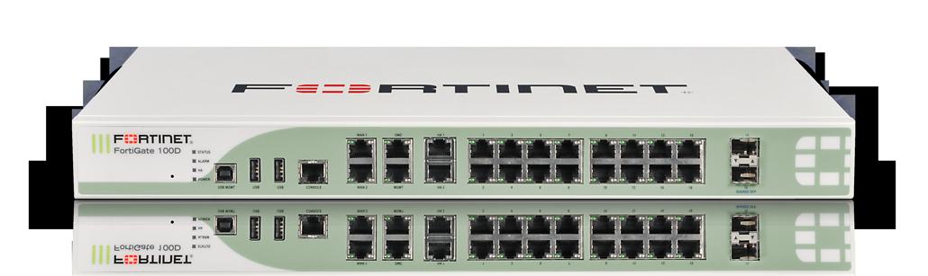 Le routeur FortiGate 100D Gen3 de Fortinet